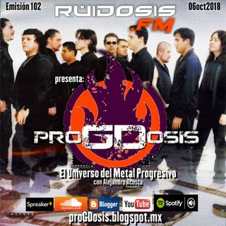 proGDosis 102 - 06oct2018 - Ensamble de Guitarras Electricas