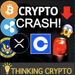 CRYPTO CRASH - Coinbase Halts Lend Due To SEC - Gary Gensler Crypto Regulations & Ripple XRP Lawsuit