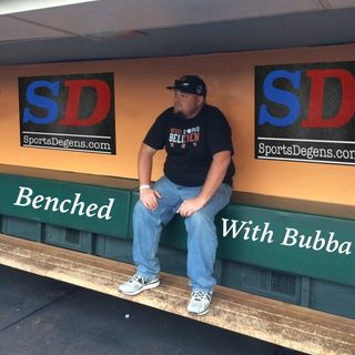Benched with Bubba EP 3- Guest Dawk