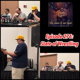 The Blake & Sal Show: The State of Wrestling (Wisconsin Comic Convention 6/29/19)