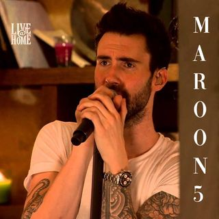 "Maroon 5 - Live Acoustic "" Live@Home "" - Full Show 