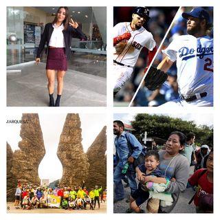 FIL Zócalo 2018, Expo Bici 2018, Caravana Migrante/AMLO, World Series 2018, NFL Semana 7.
