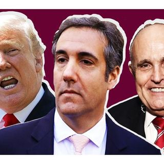 Is President Donald Trump and Rudy Giuliani witness tampering with Cohen family