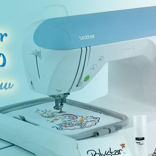 BROTHER PE770 REVIEW  EMBROIDERY COMPUTERIZED SEWING MACHINE WITH USB COMPATIBILITY