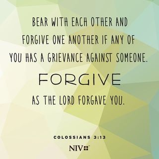 Forgive Others and Forgive Yourself