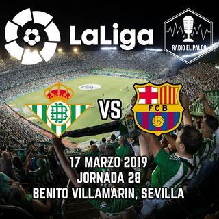 Real Betis vs Barcelona en VIVO