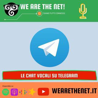 231 - Cos'è e come creare una chat vocale su Telegram