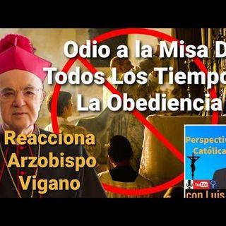 Comentarios sobre el Motus Propio de Bergoglio de Mons Viganó y Luis Román. Retransmisión no oficial del canal Perspectiva Católica