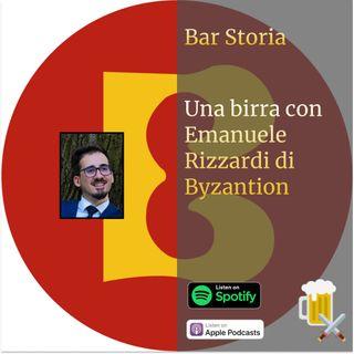Una birra con Emanuele Rizzardi (Byzantion)