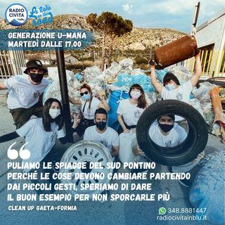 Intervista a Federica Aprea di Clean Up Gaeta-Formia