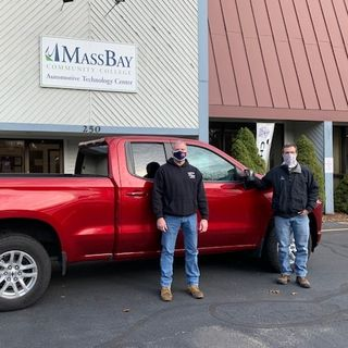 Mass Bay Community College is paying it forward with 6 donated Chevy and GMC trucks