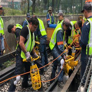 Continúan obras en 3 estaciones de L3 del Metro