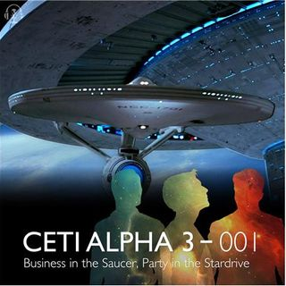 001 - Business in the Saucer, Party in the Stardrive