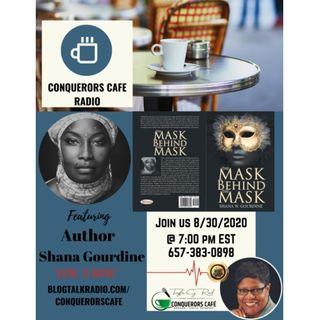 Conquerors Cafe Author Spotlight Featuring Author Shana Gourdine