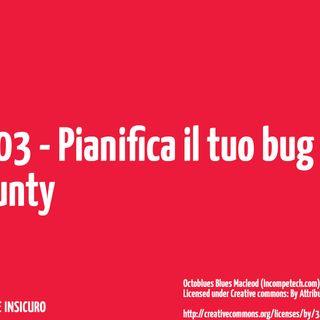 Pianifica il tuo bug bounty