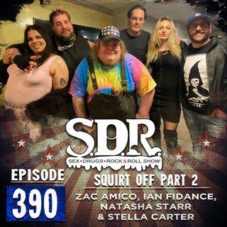 Zac Amico, Ian Fidance, Natasha Starr & Stella Carter (Comedians & Porn Stars) - Squirt Off Part 2