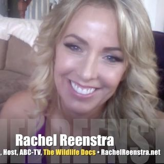 Wildlife Docs host Rachel Reenstra roars! INTERVIEW