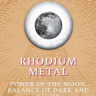 The Moon -Rhodium