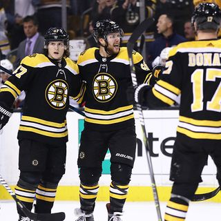 Bruins Share Playoff Expectations