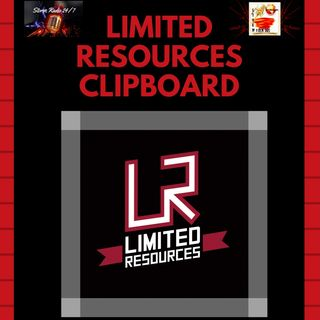 Limited Resources Clip Board - Push Faith House Ministries - Shelter -Volunteer Planning
