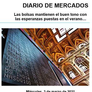 DIARIO DE MERCADOS Miércoles 3 Marzo