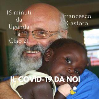Francesco Castoro messaggio  di fine anno da  Kalongo -uganda-per gli ascoltatori di Radio Ciao21