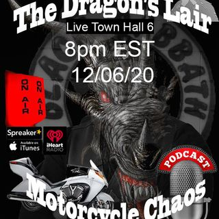 Live Sundays Town Hall with Black Dragon 8 12-06-20