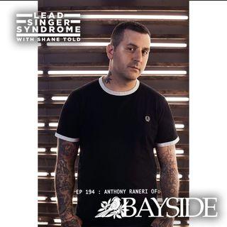 Anthony Raneri (Bayside) returns!