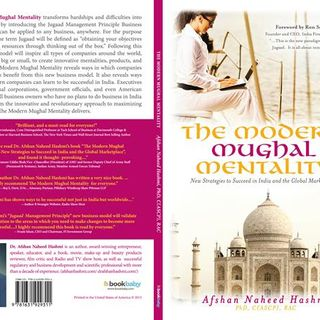 Reading from my Book: The Modern Mughal Mentality