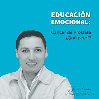 Cancer de próstata ¿Qué perdí?
