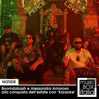 """BoomDaBash e Alessandra Amoroso alla conquista dell'estate 2020 con """"Karaoke"""""""