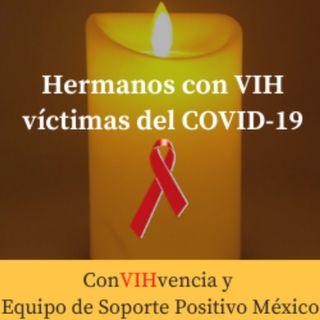 EquipoDeSoporte+-Mueren 5 personas con VIH de COVID-19 y sigue el desabasto de medicamento