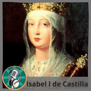 Eloisa Rojas con Isabel I de Castilla