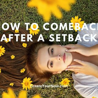 2004 How to Comeback after a Setback