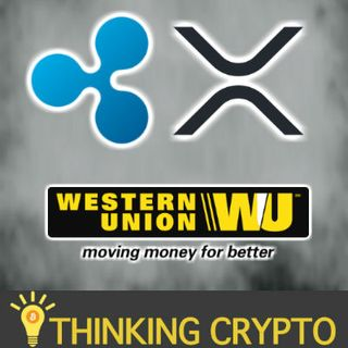 WESTERN UNION TO USE RIPPLE XRP? CEO LEARNING FROM RIPPLE - RUSSIA CRYPTO REGULATIONS - PWC CRYPTO AUDITING