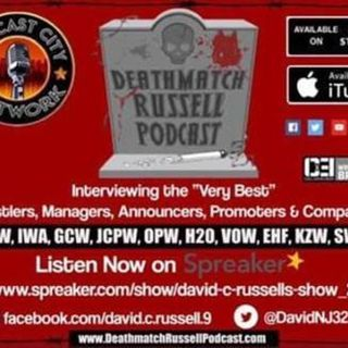 """Death Match Russell PodCast""! Ep #247 Live with KZW Indy Pro Wrestler ""THEE CHRIS ROSE""! Tune in!"