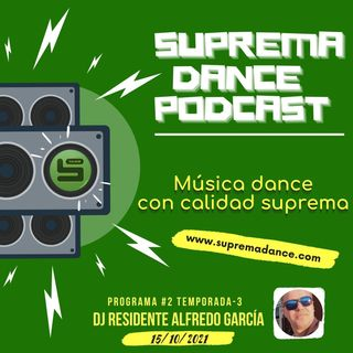 DJ Residente Alfredo García Programa-2 ►T.3 ‖ SDP