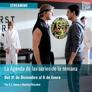 Streaming: Agenda de Series del 31 de Diciembre al 6 de Enero