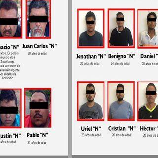 Detienen a integrantes del CJNG