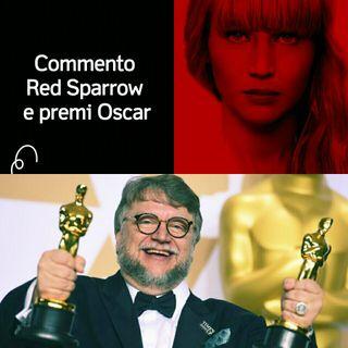 Recensione Red Sparrow & premi Oscar