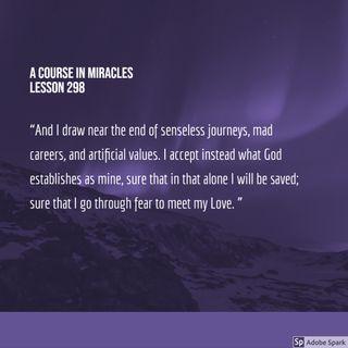 The End of Senseless Journeys