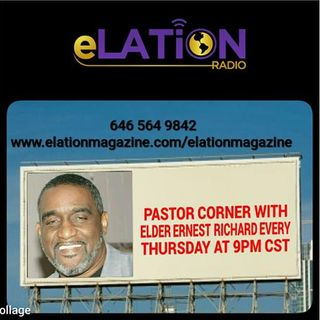 Pastor's Corner With Elder Richard