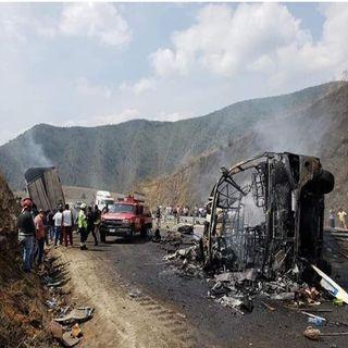 Aumenta víctimas por accidente carretero en vía Puebla-Veracruz