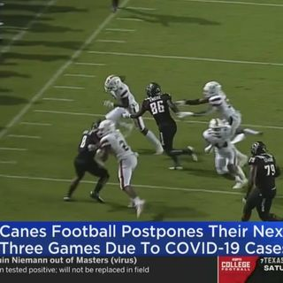 Miami Covid Crisis Ravages Canes' Football & Failures of the Sports Media Industrial Complex