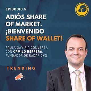 Adiós Share of Market ¡Bienvenido Share of Wallet! | Episodio 5 Paula Gaviria y Camilo Herrera