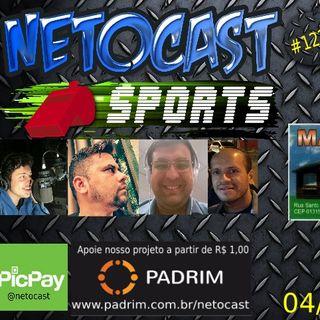 NETOCAST 1228 DE 04/12/2019 - ESPORTES - F1 - FUTEBOL - NFL - NBA - SFT - MMA 18 - UFC