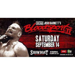 GCW: Josh Barnett's Bloodsport 2 Alternative Commentary