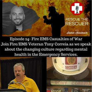 Episode 24- Fire and EMS Casualties of War