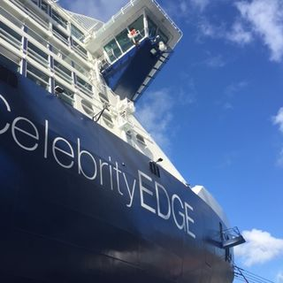 The Celebrity Edge, with Christine Wong