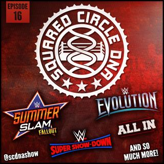 Episode 16 - SummerSlam '18 Fallout, Evolution, Justin vs Haters AND Printers!